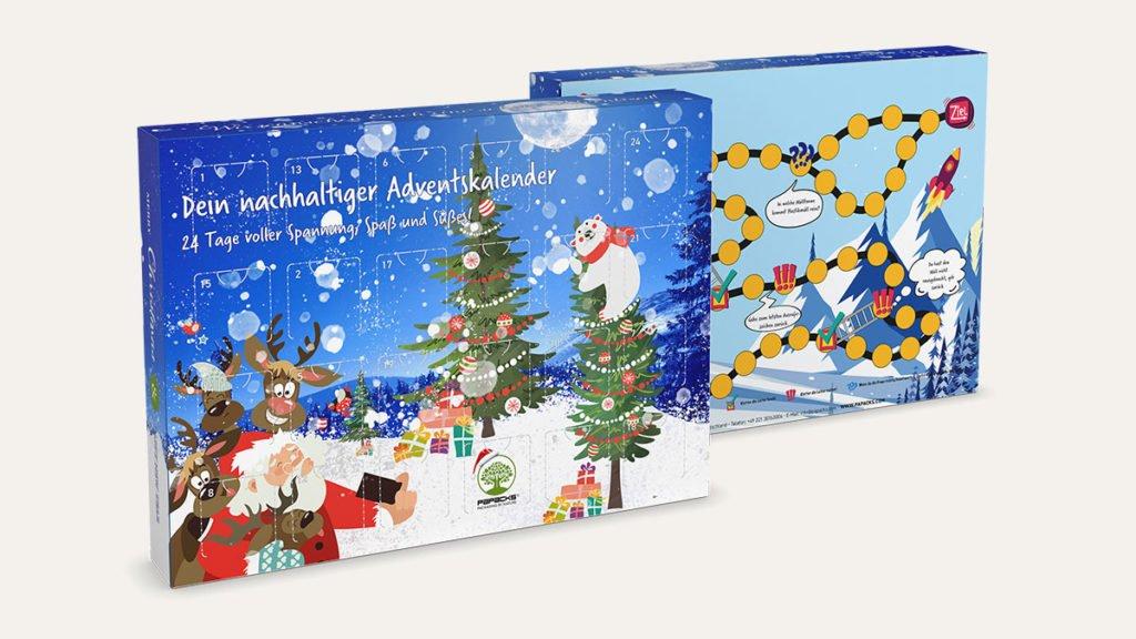 Nachhaltige Kinder Adventkalender