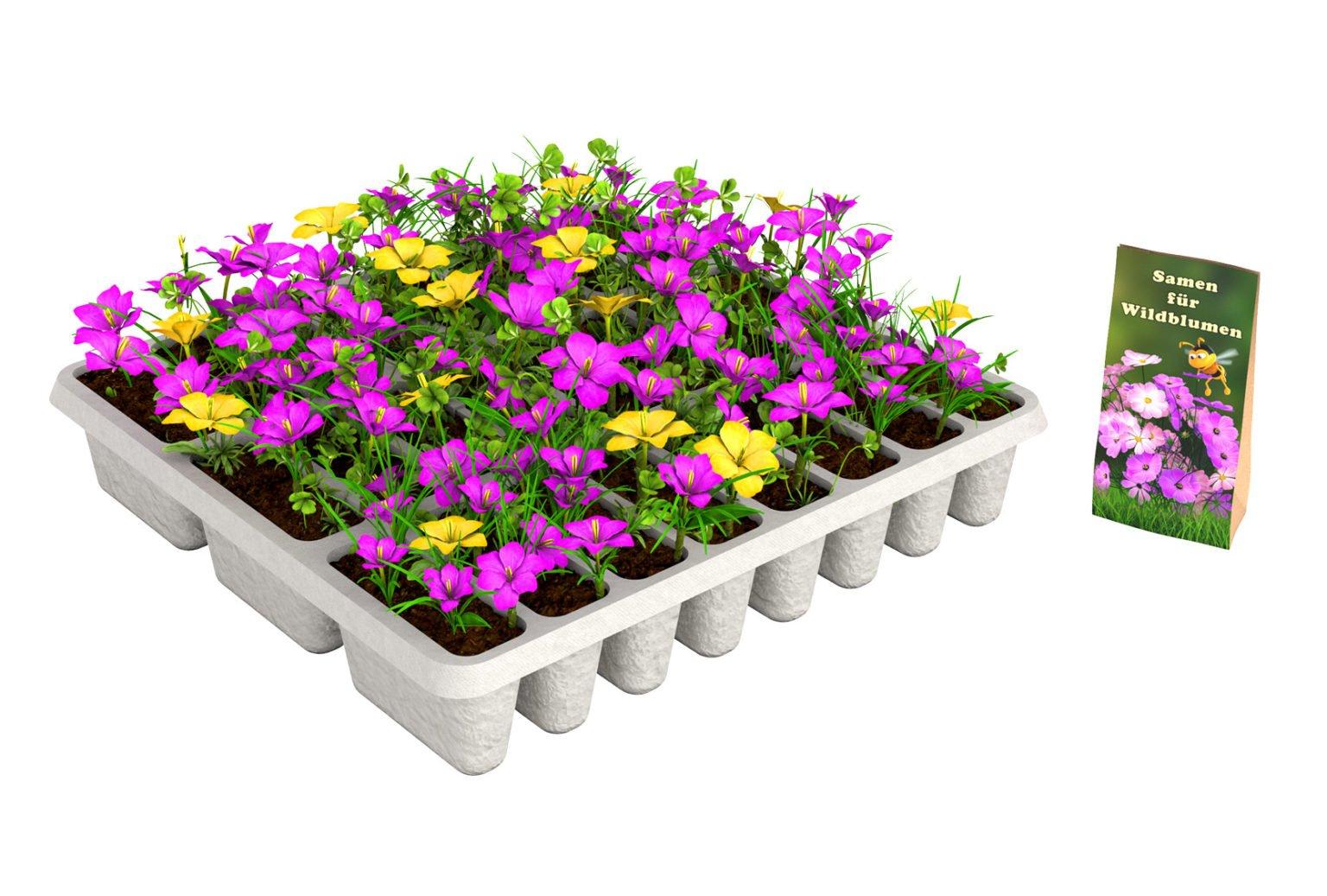 vykládat květiny